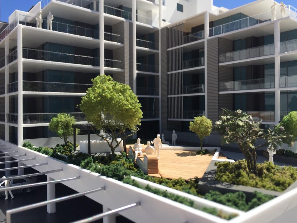 East Bank apartments five