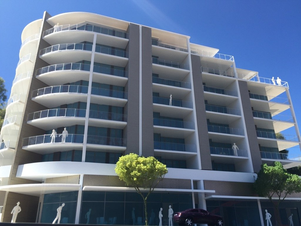 East Bank apartments six