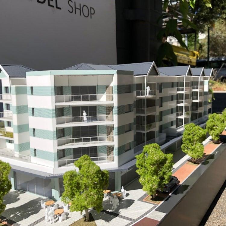 Nuhaven Apartments model