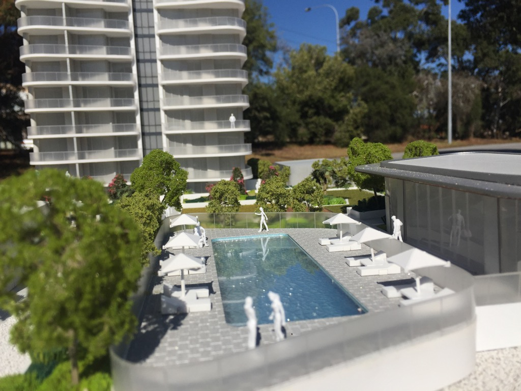Pearl luxury apartments - Perth Waterfront one
